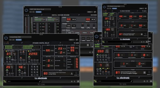 TC Electronic Icon Series Native Plug-ins