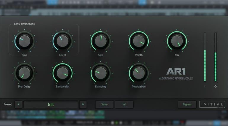 AR1 Algorithmic reverb