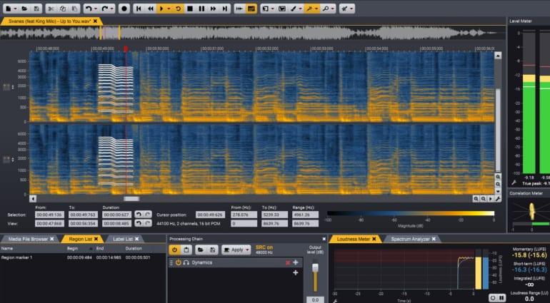 Acon Digital Acoustica audio editor 7.2