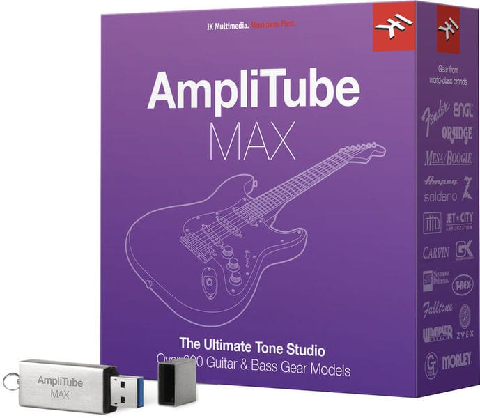 AmpliTube MAX Bundle deal