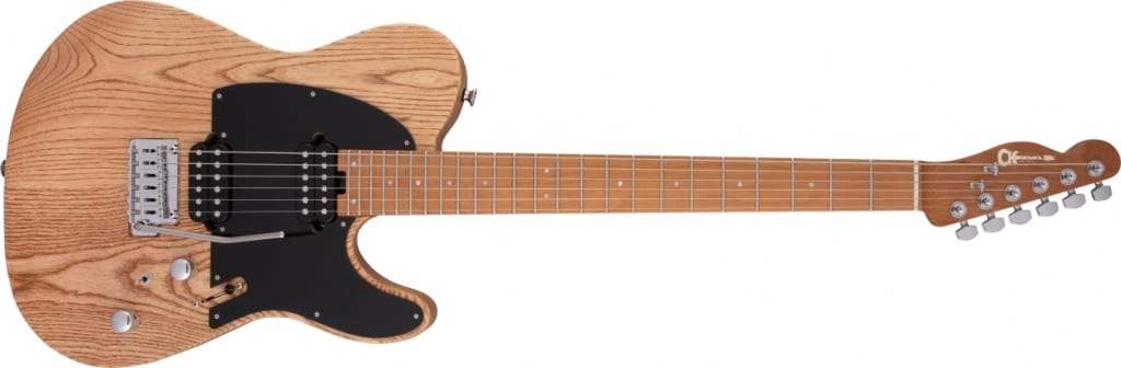 Charvel Pro-Mod So-Cal Style 2 in Natural Ash with reverse headstock