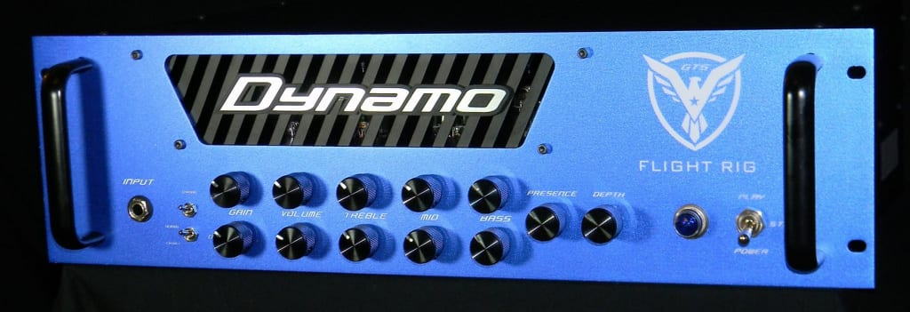 Dynamo Amplification Flight Rig