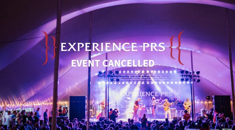Experience PRS 2020 Cancelled