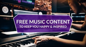Free Discounted Music Content coronavirus covid-19 keep happy and inspired