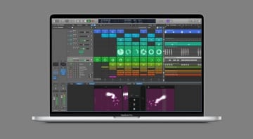 Logic Pro X session view