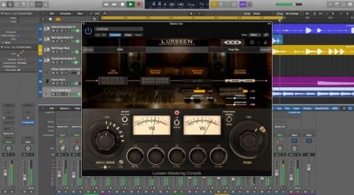 Lurssen Mastering Console in Logic Pro