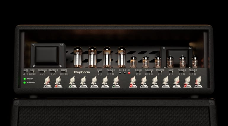 Mercuriall Audio Euphoria with virtual valves