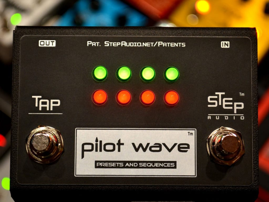 Step Audio Pilot Wave stomp box sequencer
