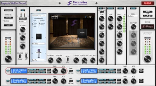 Two notes Audio Engineering Torpedo Wall Of Sound free Virtual Cabinets