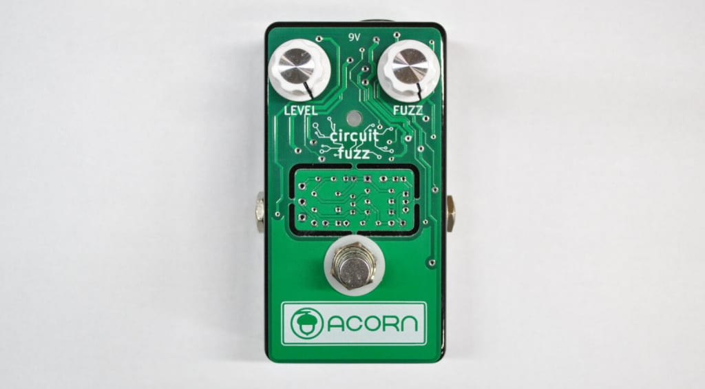 Acorn Circuit Fuzz with builtin Boost PCB