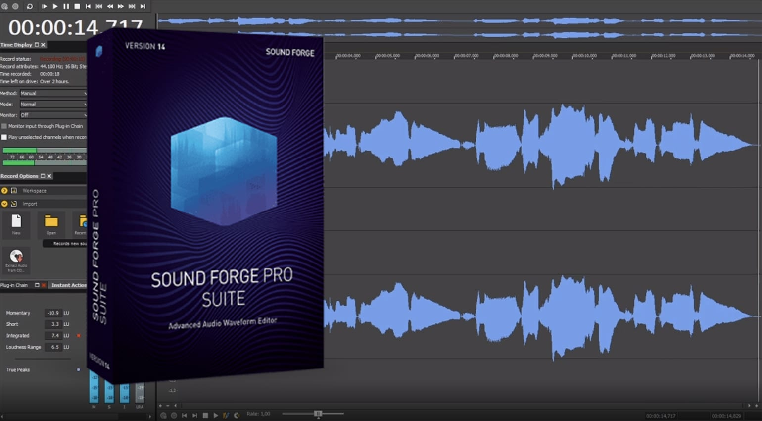 MAGIX SOUND FORGE Audio Studio 14.0.0.111 Crack 100% Working