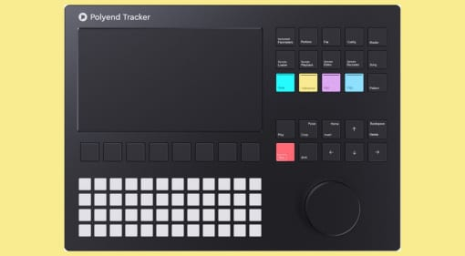 Polyend Tracker Audio Workstation