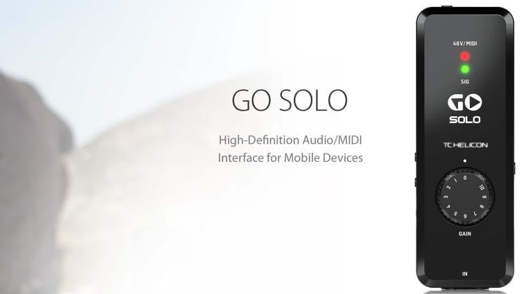 TC-Helicon Go Solo promo