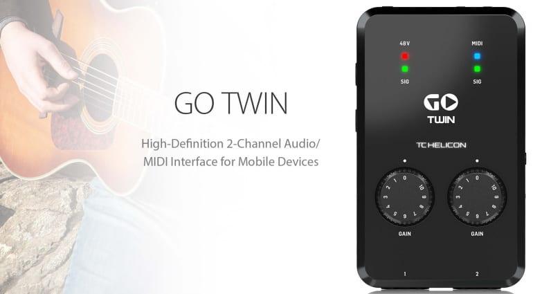 TC-Helicon Go Twin promo