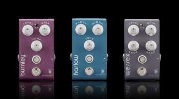 Bogner reissues Rupert Neve V2 series pedals