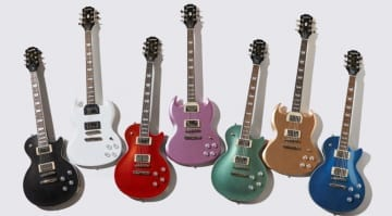 Epiphone Muse models released, these well priced favourites could be a hit