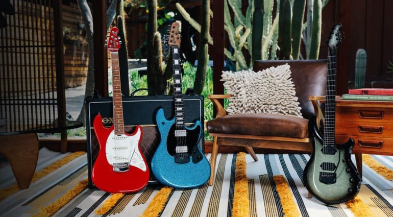 Ernie Ball Music Man Ball family Reserve April Collection