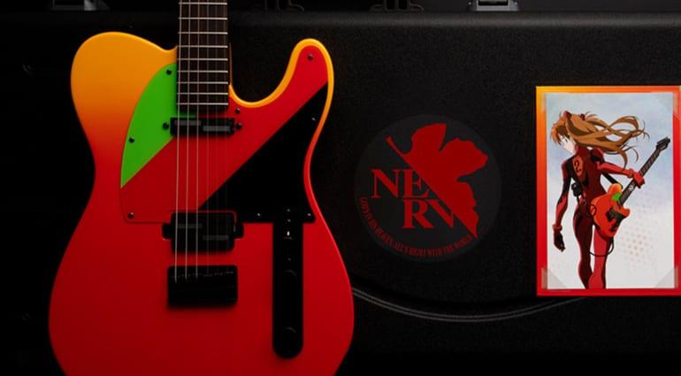 Fender Evangelion Asuka Telecaster