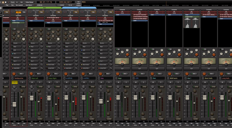 Mixbus 6 mixer
