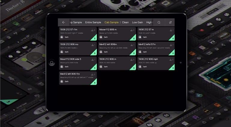 Mooer GE Labs iOS amp sim