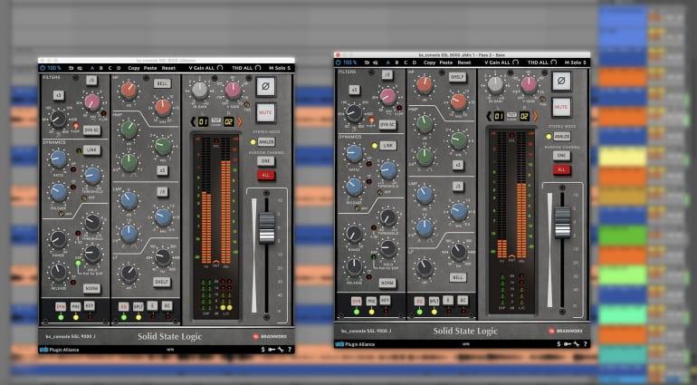 Brainworx SSL 9000 J console emulation