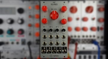 AI Synthesis AI007 Quad VCA Mixer