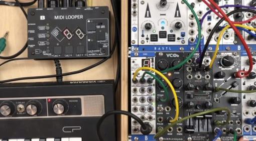 Bastl MIDI Looper and filter