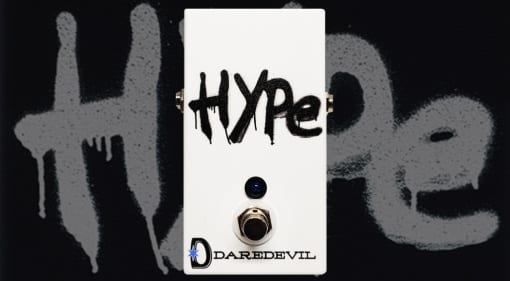 Daredevil HYPE FET Boost pedal