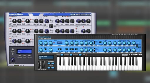 Novation V-Station Bass Station plug-in bundle