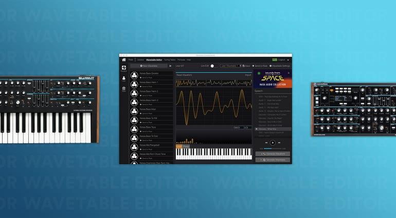 Novation Wavetable Editor