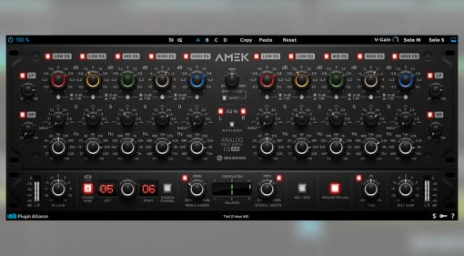 Plugin Alliance AMEK EQ 200 Mastering EQ
