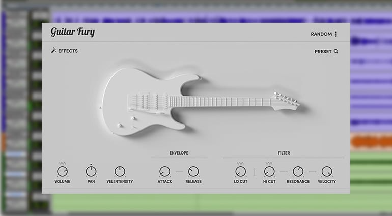sample logic guitar fury