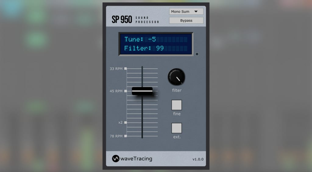 waveTracing SP950