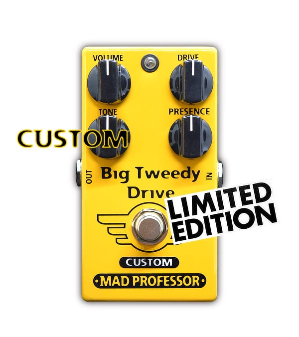 Mad Professor Big Tweedy Drive with Super Tweed mod