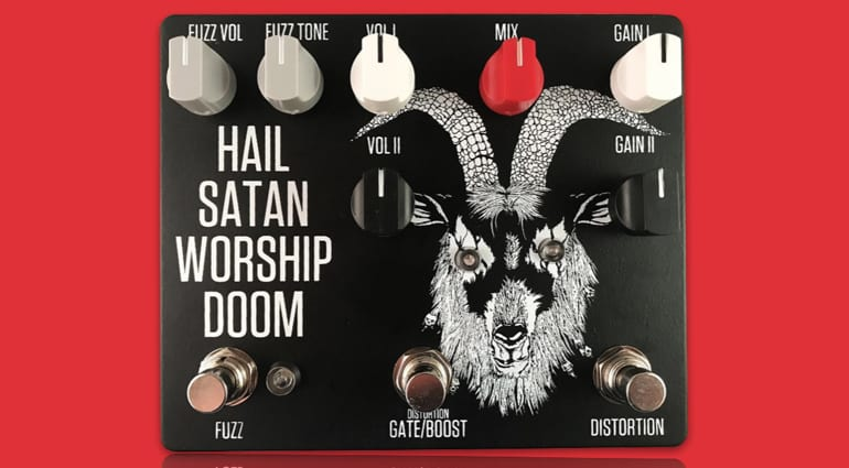 Bongripper and Fuzzrocious Blastripper pedal Hail Satan Worship Doom