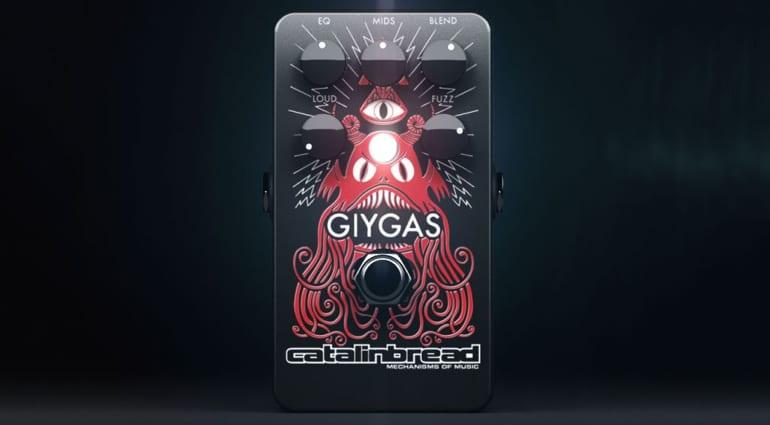 Catalinbread Giygas fuzz pedal