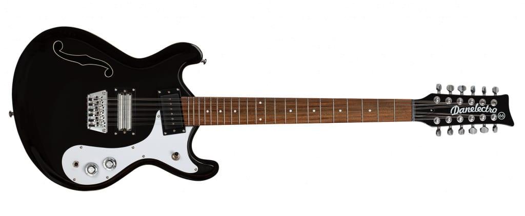 Danelectro Reissue '66-12 electric 12 string black