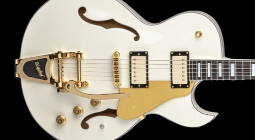 Dean Colt Bigsby with Piezo in Vintage White