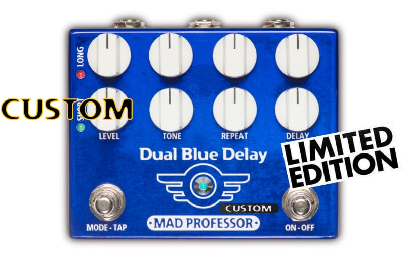 Mad Professor Dual Blue Delay with Deep mod