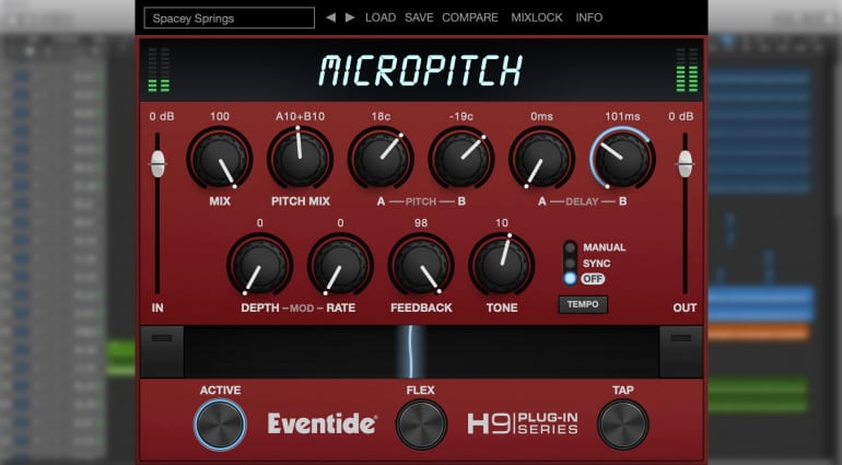 Eventide MicroPitch plug-in