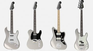 Fender Mod Shop now offers Inca Silver, painted black headstocks and finally a hard tail Strat option