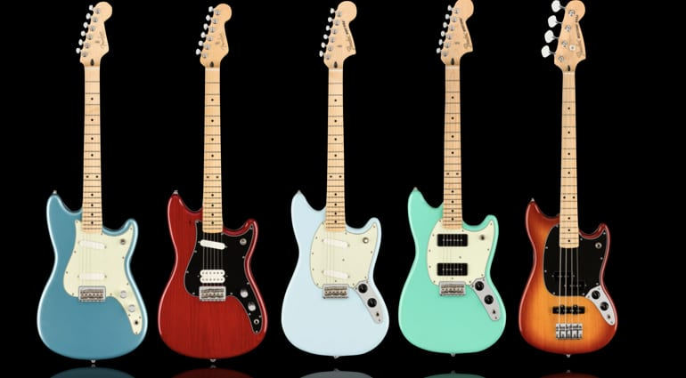 Fender Player Series expanded