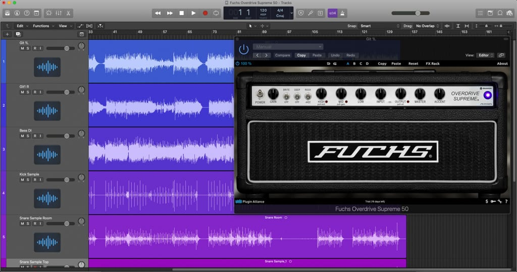Fuchs Overdrive Supreme 50 plugin