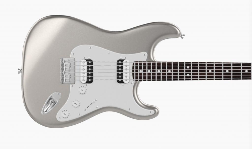 Hard Tail Inca Silver Stratocaster