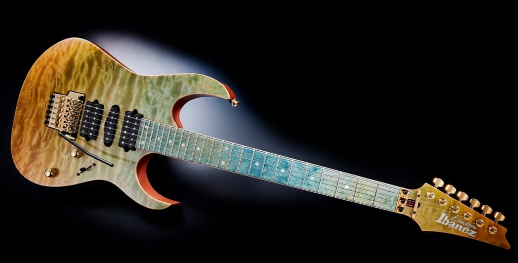 Ibanez J Custom 2020 JCRG2002-SLH Sylph Guitar