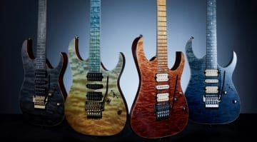 Ibanez J Custom 2020 with new all-over finishes