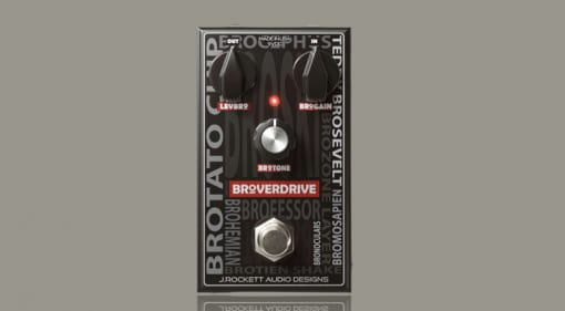 J. Rockett Audio Designs Broverdrive, a dumb name for a musical overdrive?