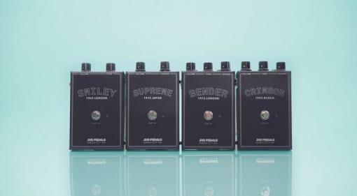 JHS Pedals releasing four legendary fuzz pedals