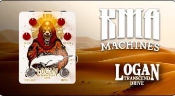 KMA Audio Machines Logan Desert Transcend Drive limited edition