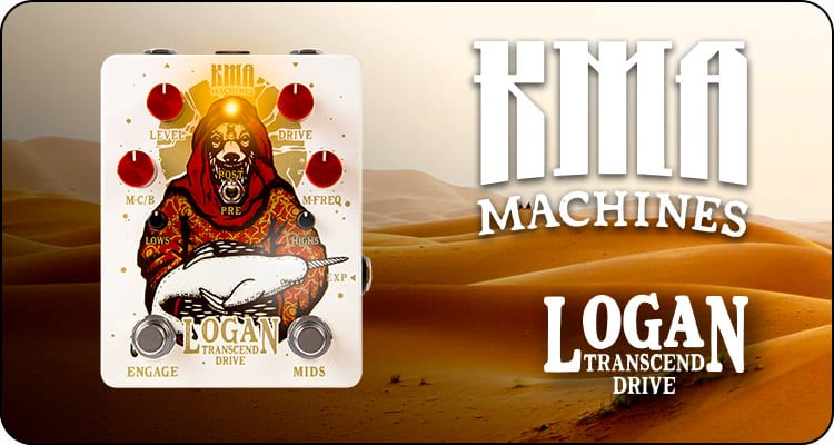 KMA Audio Machines Logan Desert Transcend Drive